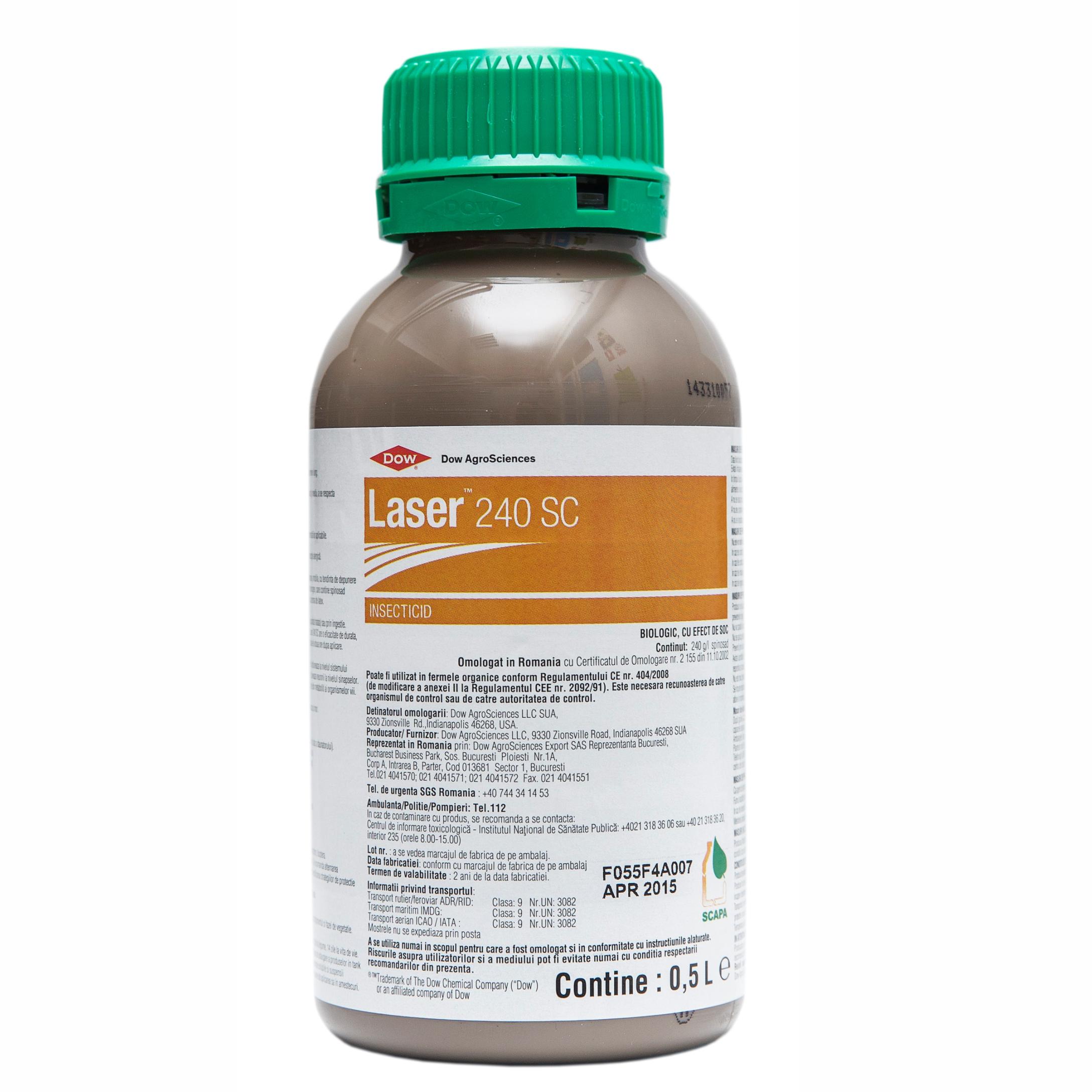 LASER 240 SC - Insecticid biologic