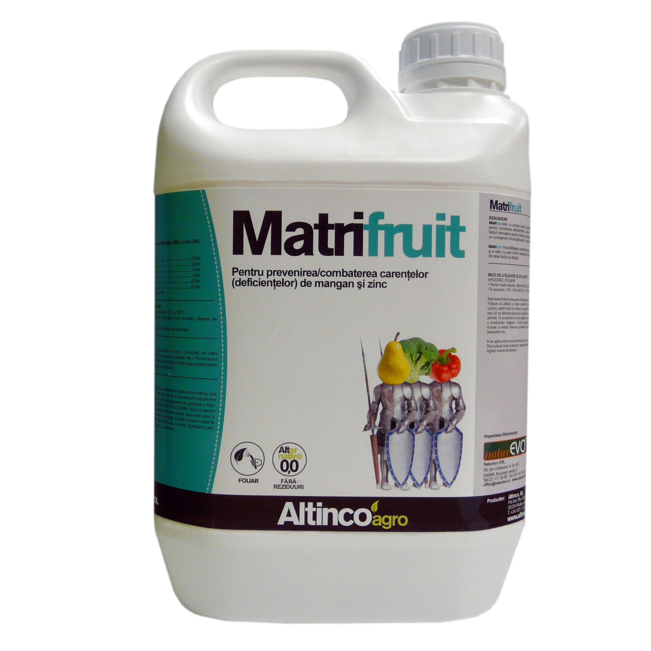 Matrifruit produs biodegradabil
