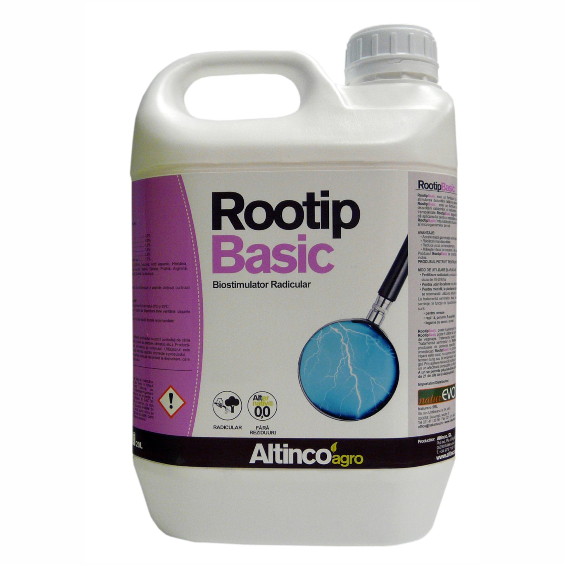 ROOTIP BASIC reprezintă o nouă generație de biostimulatori radiculari.